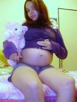 Pregnant hispanic teen - 121