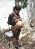 Pregnant hispanic teen - 122